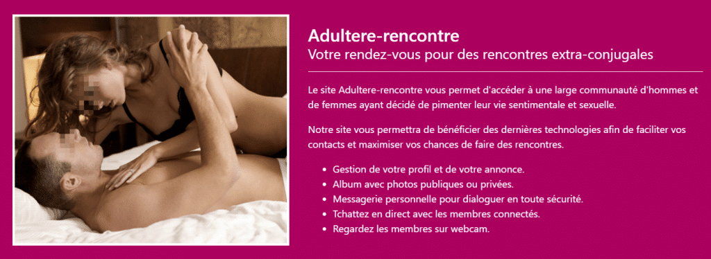 adultère montreal