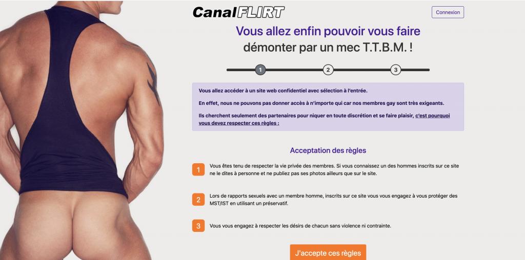 Canal Flirt Gay: idéal faire des rencontres gay sans lendemain