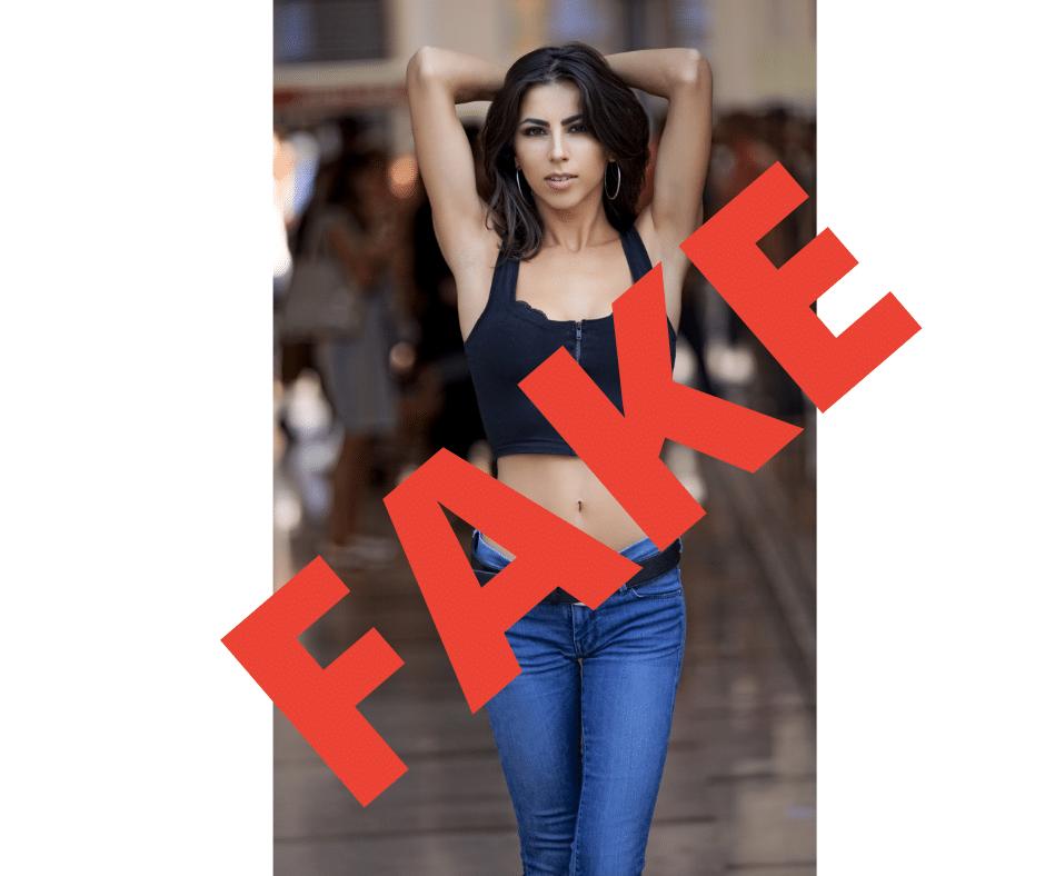 Comment reconnaître un fake sur Tinder?